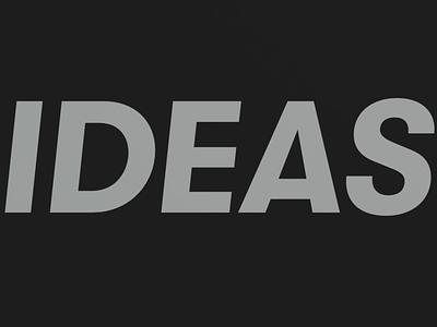 IDEAS arnold 3d experimental c4d brand