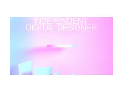 FLVLL - EXPERIEMENT graphic design web design c4d
