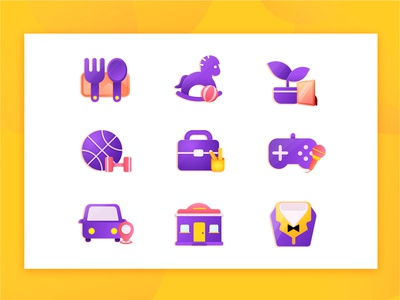 Life related icons