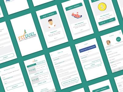 Fitduel - UI Design