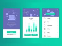 B2B Android App UI