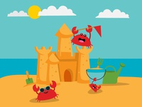 Crabby Beach Holiday