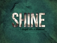 Shine | Type Art