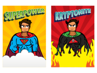 Super Man   Trump Card