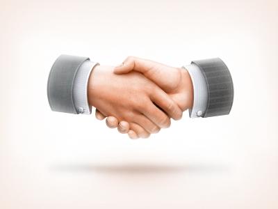 HandShake icon hand hands handshake