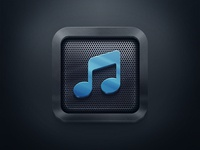 Simple Icon for a MusicApp
