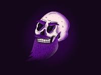 Beardy skull