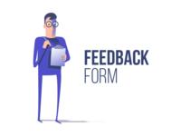 Feedback form character