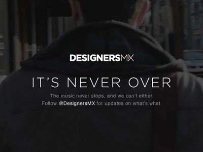 DesignersMX designersmx mx mix redesign revamp new coming soon designers mixes