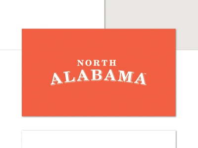 North Alabama Identity logo north alabama identity rebrand brand package client paramore agency