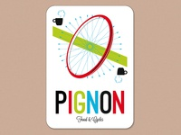 Pignon, food & cycles store