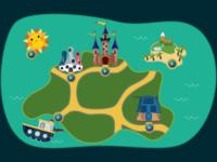 Kids Game Map
