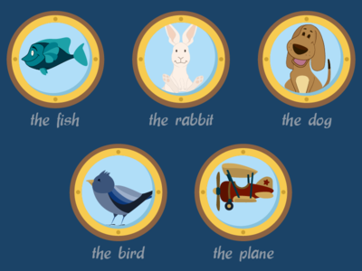 Subjects for a Kids Game 02