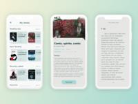 e-reder app - concept