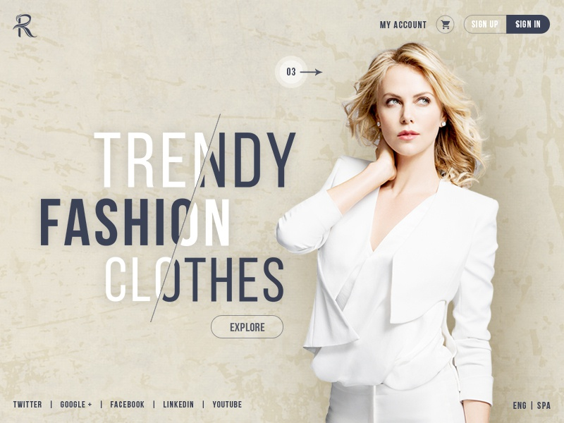 women fashion banner creative headers website banner by rohan