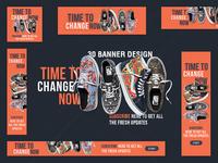 banner pack, social media, offer banner