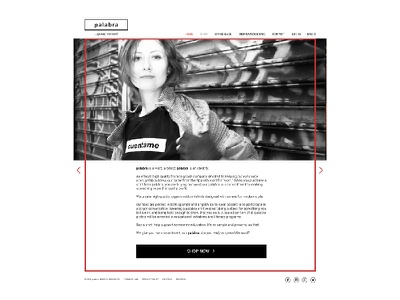 palabra web layout