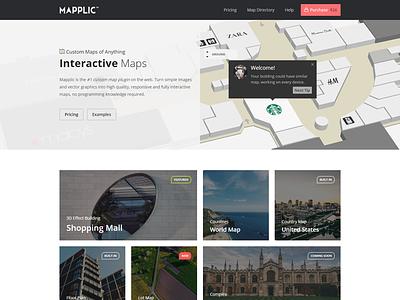 Mapplic.com - Site update ui vector svg interactive map custom