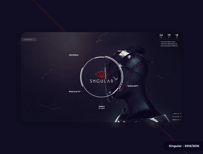 Singular - Crowdfunding 2015-2016 design icon typography website webapps logo blockchain branding ux ui