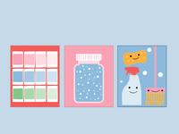 Montessori illustrations - work in progress