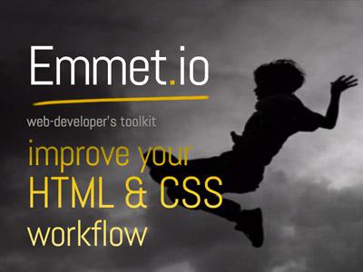 Emmet slide presentation