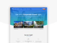 Homepage - Corporate Travel Product