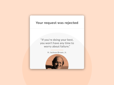 Social App joining request rejected