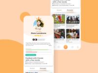 Profile Screen - Hyperlocal Social Network