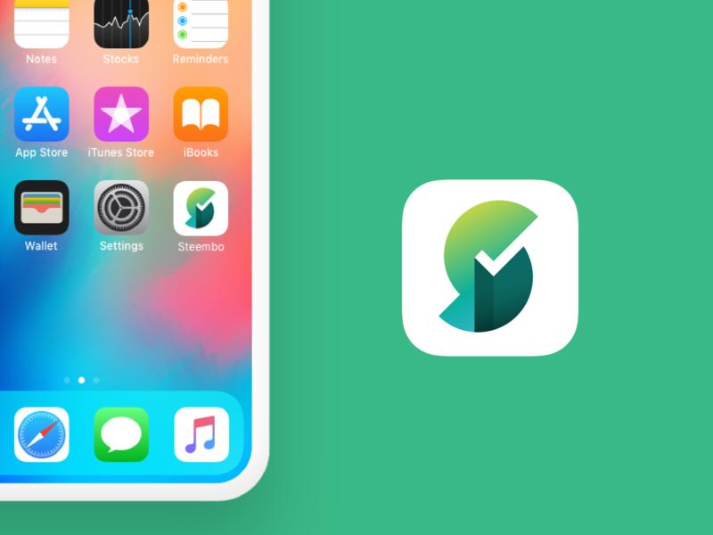 App icon - Steel Aggregator App startup graphic logo design bright s steel logo branding ui design illustration ux vector mobile app website icon flat web typography