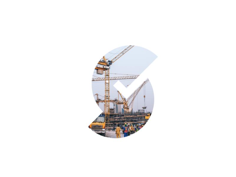 Logo as a window - Steel Aggregator App typography web flat icon website app mobile vector ux illustration design ui branding logo steel s bright logo design graphic
