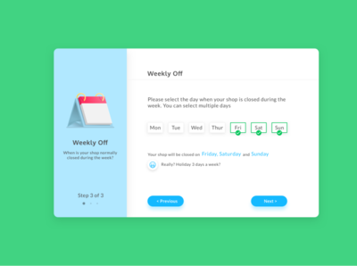 Weekly Off - Laundry App minimal onboarding laundry typography web flat icon website app mobile vector ux illustration design ui bright graphic