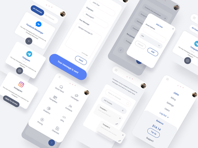 Mobile Dashboard Ui/Ux Design mobileui uxdesign uidesign userexperience userinterface analytics adobexd ui uiux dashboard