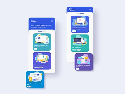User Interface Design & Illustration logo colors illustration uidesign ui userinterface uiux webdesig illustrations mobile ui