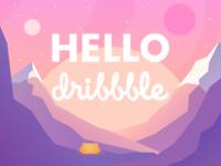Well hello, Dribbble!