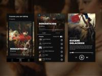 Fine Arts app concept