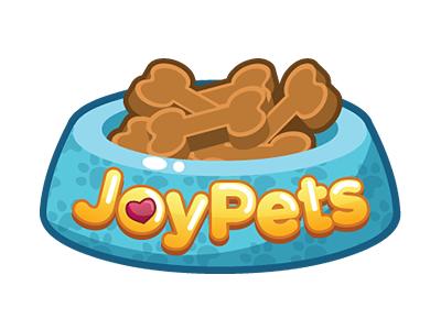 Joy Pets logo logo pets game