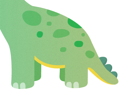 Dinosaur Butt dinosaur butt illustration