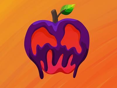 Poison Apple apple procreate poison halloween