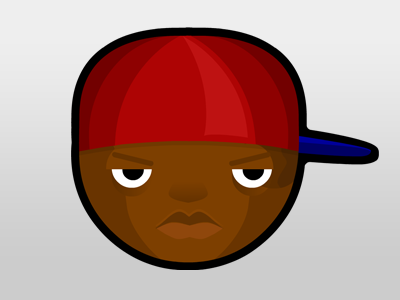 Rappers - Cassidy rapper vector character cassidy