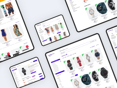The-Blue.Shop Product Search Engine