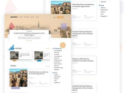 Procim blog page