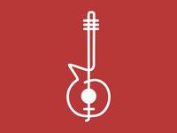 Guitar - clef logo