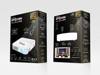 Velocity X Black Projector Box Design