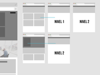 wireframes menu