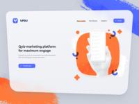 UP2U Landing page