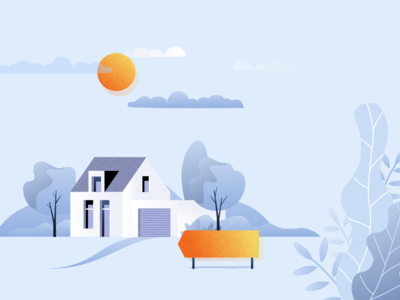 Home real estate home adobe illustrator bangalore sketchapp skech design vector illustration
