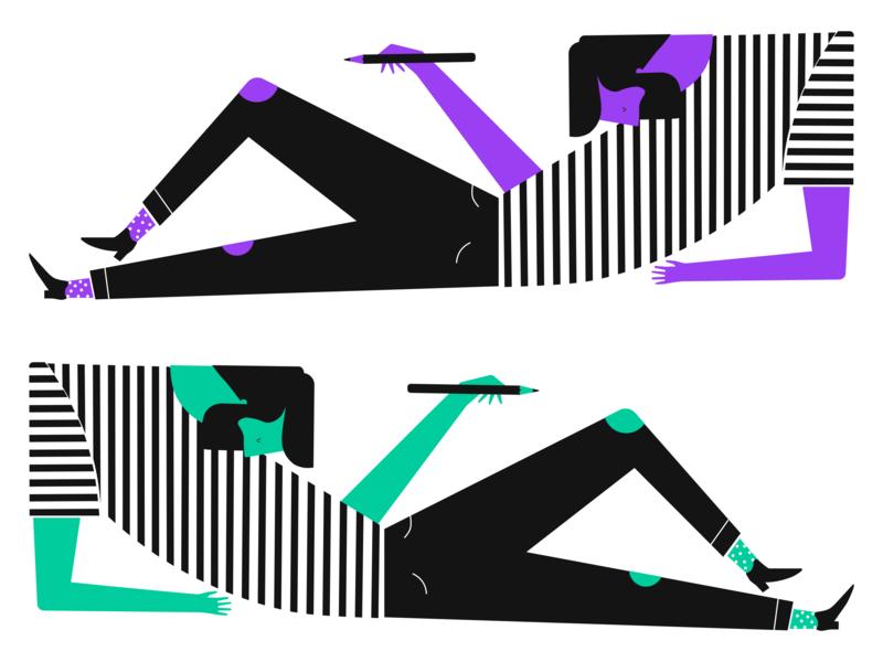 Life of a Designer bangalore artist graphic  design mindful pixels creative sketchapp design vector illustration
