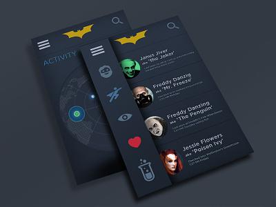 Batman App iphone mobil batman app