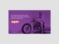 Motorcycle jumper- npm promo