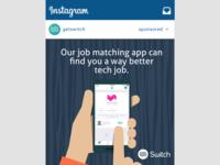 Switch App - Instagram Ads